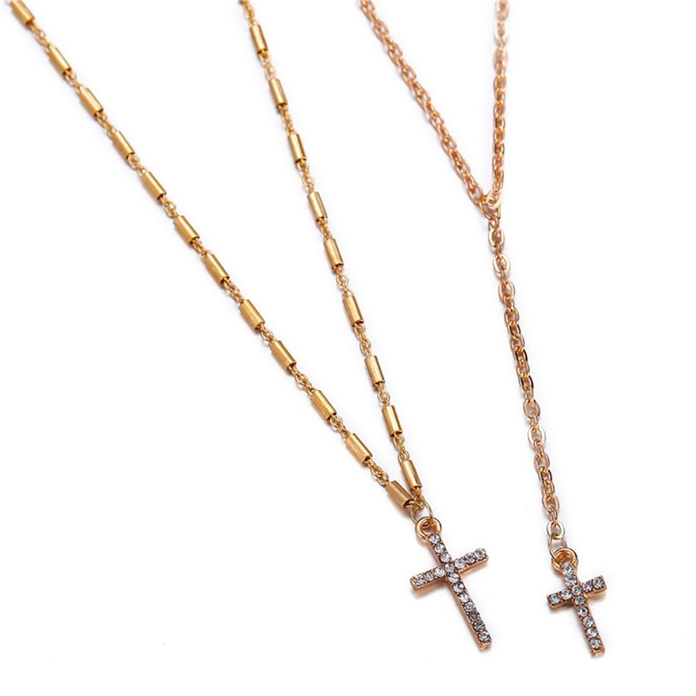 17-km-moda-oro-Color-cristal-Cruz-collares-colgantes-Bohemia-doble-capa-collar-Cat-lica-Cristiana (4)