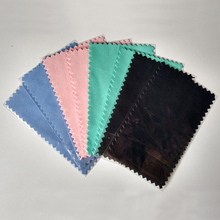 Pink New 100pcs/pack Silver Polish Cloth for silver Golden Jewelry cleaner tool Best Quality