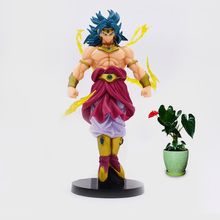 Anime Dragon Ball Z New Style Broli Broly Super Saiyan PVC Action Figure Doll Collectible Model Toy Christmas Gift For Children [funny] original box 28cm game over watch azrael black death reaper ripper action figure collectible model doll toy kids gift
