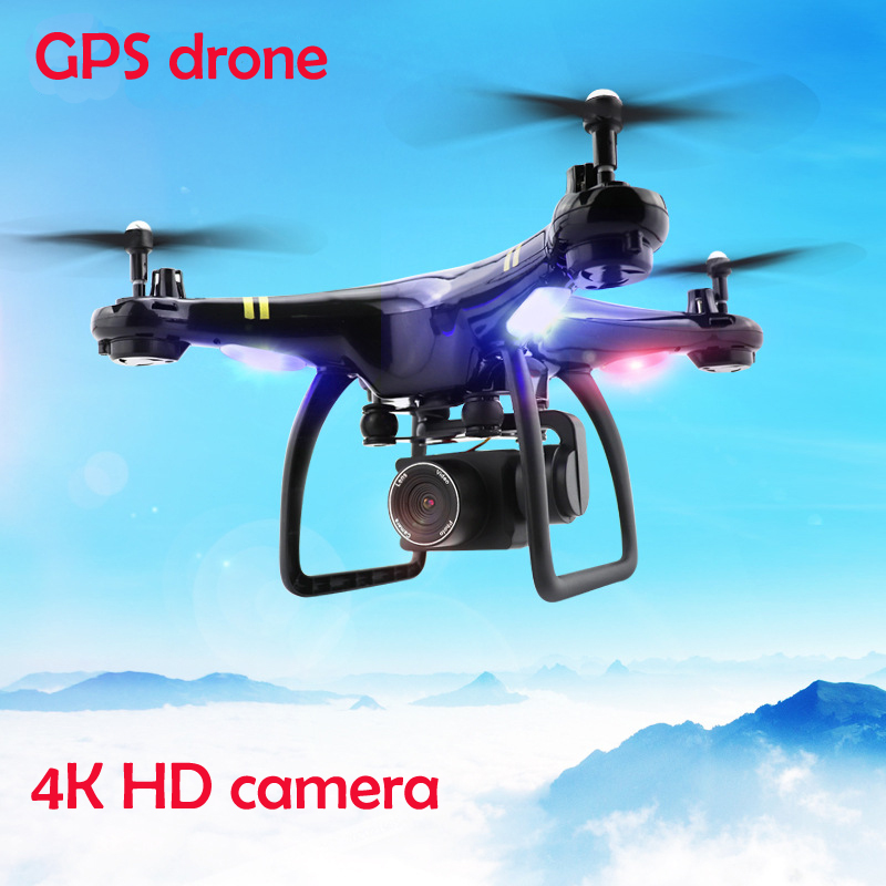 GPS <font><b>DRON</b></font> WIFI <font><b>FPV</b></font> With adjustable 720P 1080P 4K HD Camera or Real-time auto Follow Me drone 6Axis Altitude Hold RC Quadcopter image