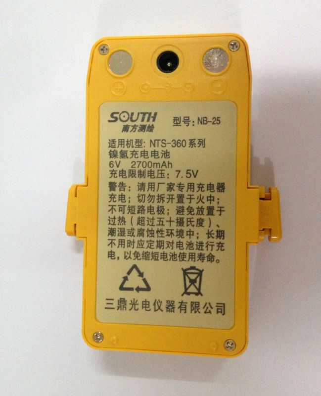 Подробнее о Details about New South Replacement NB-25 Battery FOR NTS-360 NTS-360R Total Stations details about brand new south survey total station battery nb 20a south nb20a
