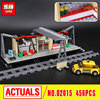 IN STOCK Lepin 02015 City Trains Series 60050 Train Station With Rail Track Taxi 456Pcs Building