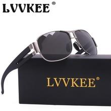 Lvvkee marca plegable gafas de sol polarizadas de calidad superior para hombre de conducción gafas de sol gafas gafas de sol masculino polaroid lente uv400
