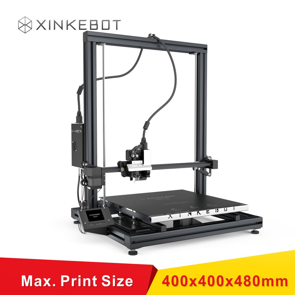 Linkar Guide with Heated Bed Black Framework LCD Display Reprap Delta Kossel 3D Printer DIY Kit