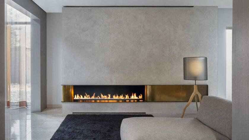 24 Inch Real Fire Automatic Intelligent Smart Bioethanol Fireplace Burner