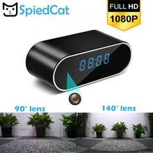 Беспроводной Няня часы 1080P wifi мини камера Будильник времени P2P IP/AP безопасность ночное видение датчик движения дистанционный монитор микро домашний