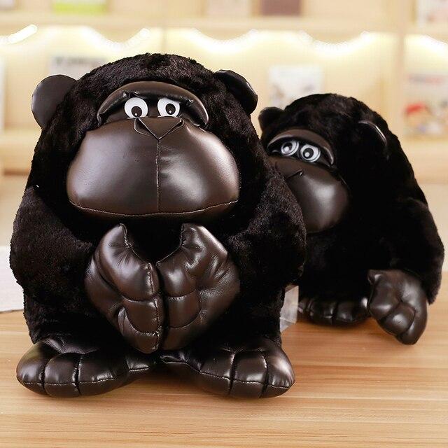 2017 nouvelles poupées en peluche orang-outan noir jouets en peluche pour enfants mignon King Kong jouet en peluche décor à la maison 30/40/50/70cm