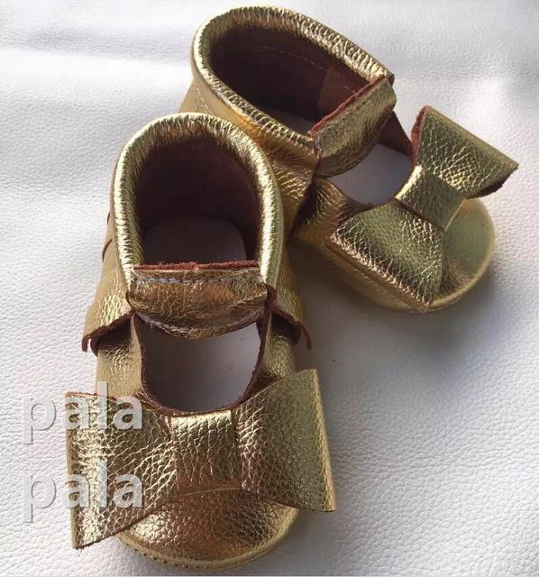 2016 Summer New arrived Mary jane baby bow moccasins soft sole leather Prewalker Hollow Princess Kids Fringe Babies shoes