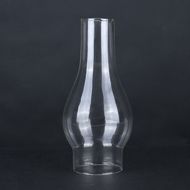 Glas Lampenkap Kerosine Lantaarns Lamphouder Olie Lamp Glas Klassieke Retro Familie Decoratieve Verlichting Verlichting Accessoires wieken