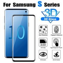Защитное стекло для samsung galaxy s9 s10 plus Закаленное стекло пленка 3D Samsang tremp s10E e s 9 10 защитная пленка 9 s лист