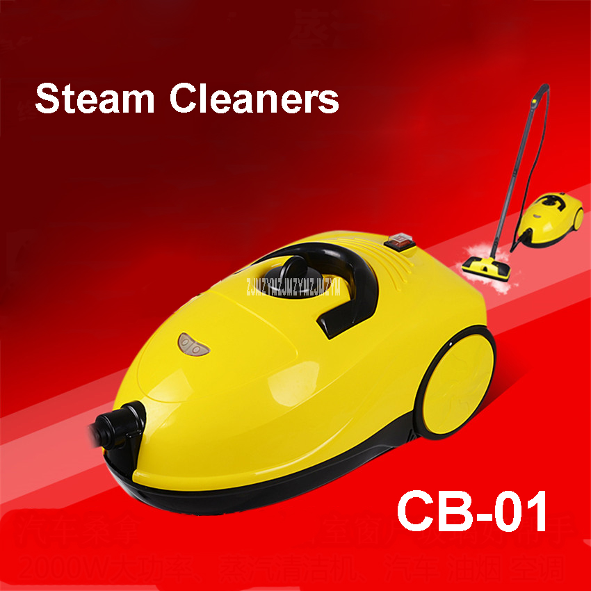 CB-01 Multifunctional Steam Cleaner Household Kitchen In addition to Fume Formaldehyde Fumigation Car Jewelery Cleaner 2000W