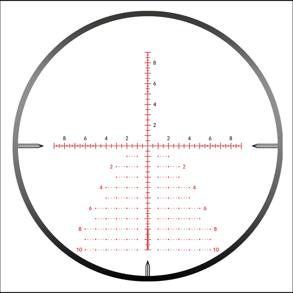 DISCOVERY Optical rifle scope HD 4 24X50SFIR FFP First Plane Focusing Tactical Differentiation Line Extended Sunshade Gun Sight in Riflescopes from Sports Entertainment
