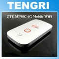 Desbloqueado zte mf90c 100 mifi 150mbps 4g lte router wifi soporte lte fdd 1800/2600 mhz tdd 2300 mhz