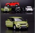 1:36 Масштаб Литья Под Давлением Металлического Сплава Модели Автомобиля Для Range Rover Evoque коллекция Модель Pull Back Toys Автомобиля-Красный/Белый/Черный/Зеленый