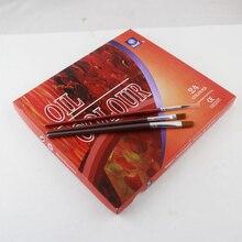 24 Colors Oil Paint Set
