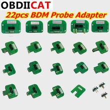 Fgtech Chip Tunning BDM Frame 22pcs For BDM100 BDM Probe Adapters 22pcs ECU Chip Tuning Tool For KTAG KESS DHL Free(China)