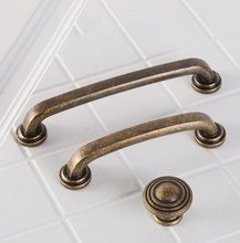 3.75'' 5'' Vintage Retro Drawer Pulls Knobs Dresser Handles Black Antique Bronze Kitchen Cabinet Handle Door Pull Handle Knobs retro vintage cabinet handle drawer door handles and pulls ceramic handle single hole children s room lovely drawer knobs