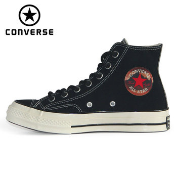 Original 1970S Converse Chuck Taylor All Star '70 The plush leather Autumn and winter style unisex sneakers Skateboarding Shoes