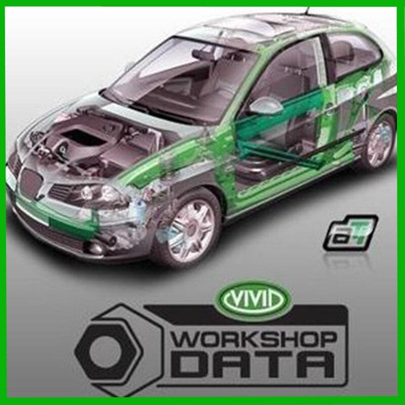 Versão mais recente vívida oficina de dados v10.2 atualização para 2010 para software de reparação coleção de software de reparação de automóveis não precisa de ativo