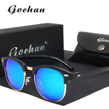 Gochan UV400 polarized sunglasses new fashion women's classic brands of high-quality anti-glare prominent feminine sunglasses