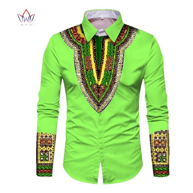 31d487dd6 Trending men african fashion dashiki design print shirt mandarin collar  personal customized african dashiki men clothes WYN352