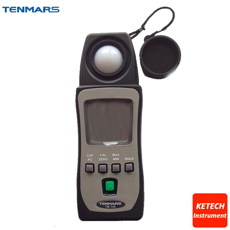 TENMARS TM-720 Pocket Digital Light Level Foot-candle Lux Meter Intensity цена и фото