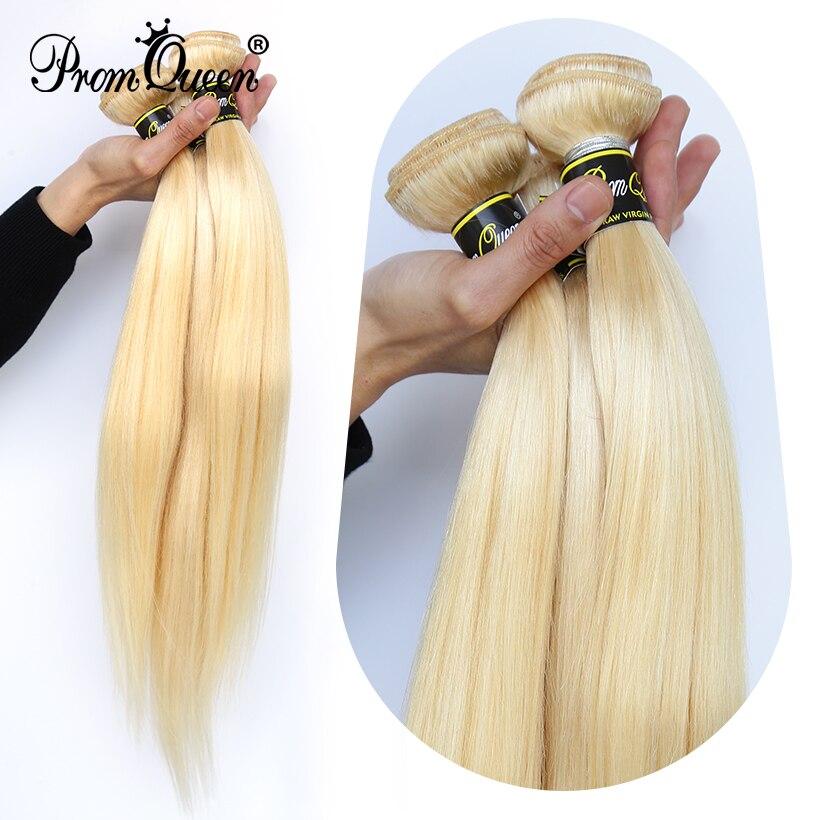 Promqueen 613 feixes de cabelo humano brasileiro