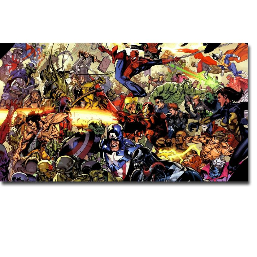 Captain America Hot Movie Art Silk Poster Print 13x24 24x43 inches