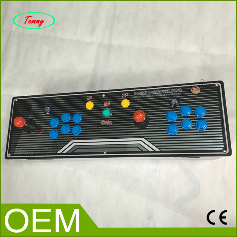 Double arcade games console joystick controller + Pandora's Box 4S board multi game 680 in 1 sanwa button and joystick use in video game console with multi games 520 in 1