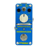 AROMA Tom Sline AHAR 3 Harmonizer Harmonist Pitch Shifter Electric Guitar Effect Pedal Mini Single Effect