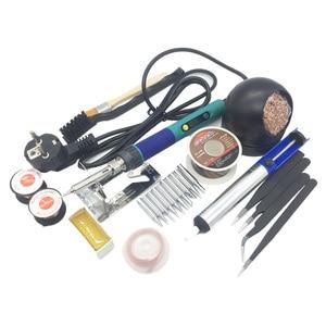 Image 3 - Cxg 936d Eu Plug Digitale Lcd Instelbare Temperatuur Elektrische Soldeerbout 110 V/220 V 60W Keramische Heater 900M Sting Tip