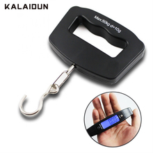 KALAIDUN Electronic Hook Scale 50kg/10g LCD Digital Display Pocket Scale Portable Hand Held Balance Weighing Hanging Luggage Bag