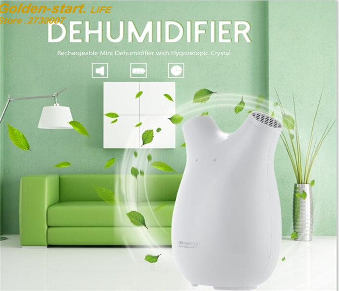 2017 Hot Portable Mini Dehumidifier Electric Quiet Air Dryer Compatible Air Dehumidifier for Home Bathroom
