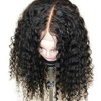 Бразильский Реми натуральные волосы Полное Кружева Парики Glueless волна воды 180% Плотность полные парики шнурка с ребенком волос предваритель