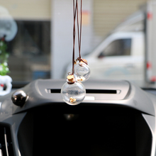 Car-Perfume-Bottle Flower-Air-Freshener Auto-Ornament Empty Essential for Oils with Car-Styling