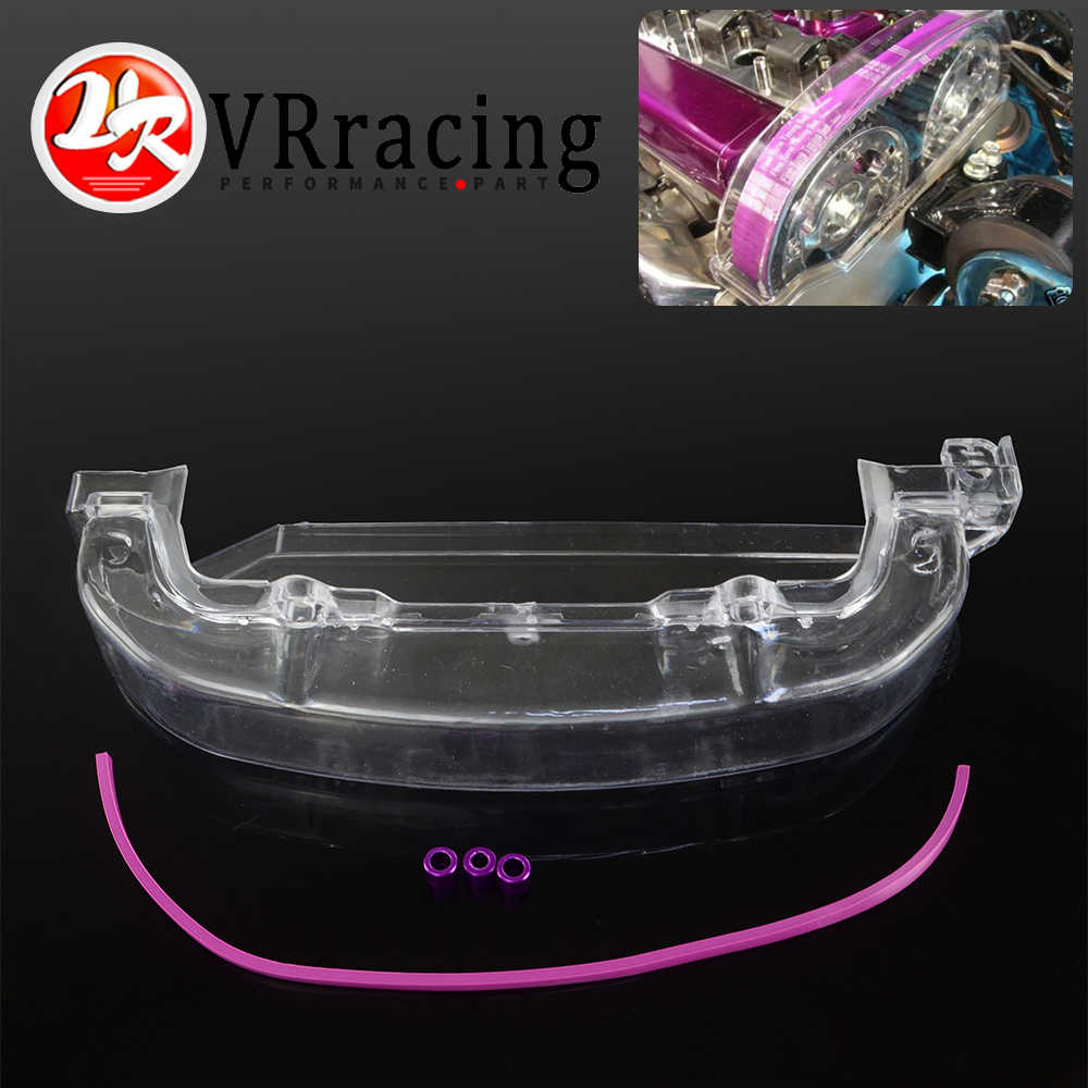 VR Clean Cam pulley Cover for Mitsubishi Lancer Single Cam Cover 4G63 CLEAR PULLEY COVER/CAM COVER/TIMING BELT VR6331