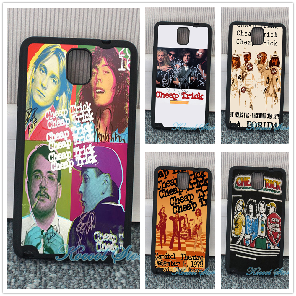Cheap Trick fashion cell phone Case cover for samsung galaxy S3 S4 S5 S6 S6 edge S7 S7 edge Note 3 Note 4 Note 5 &uu06