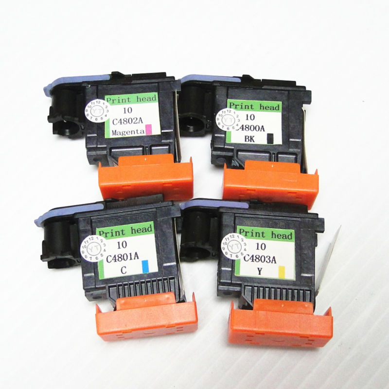 YOTAT C4800A C4801A C4802A C4803A replacement for HP10 printhead for HP Designjet ColorproCAD GA 2000 2000CN 2500c 2500cm in Ink Cartridges from Computer Office