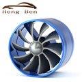 Универсальный Забора Воздуха Автомобилей Turbo вентилятор Saver Вентилятор Одноместный Turbo Вентилятор Пропеллер Turbo Supercharged