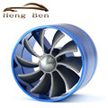 Universal Air Intake Car Turbo fan Saver Fan Single Turbo Fan Propeller Supercharged Turbo
