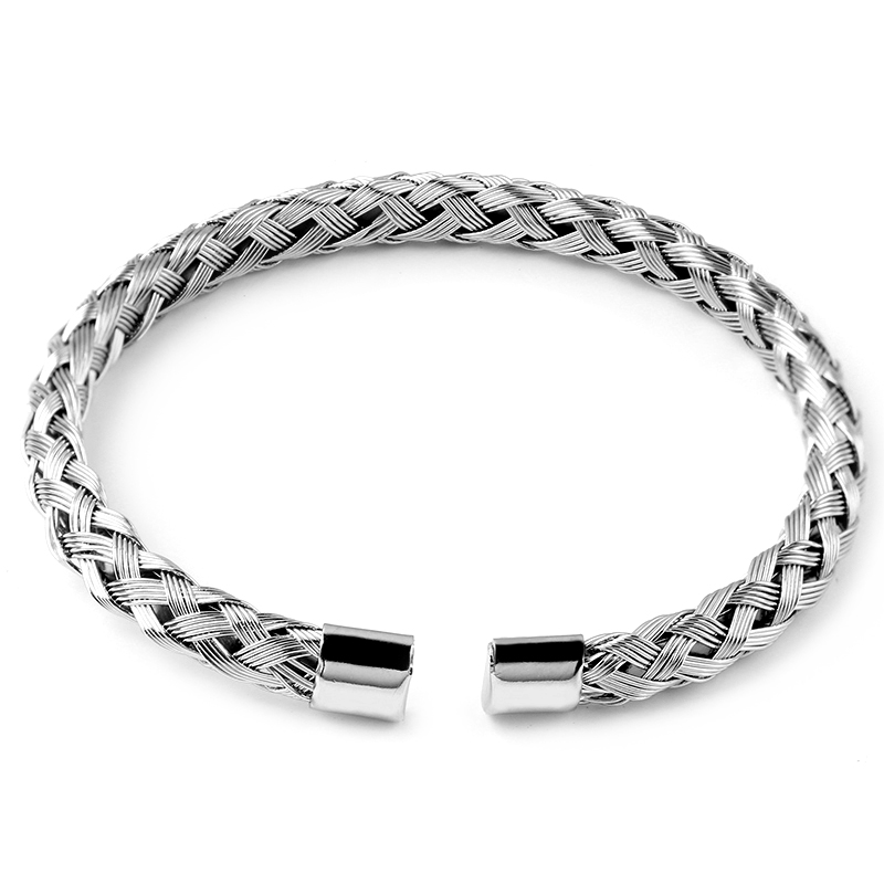 DIY new listing 5MM braided net twist bracelet jewelry accessories  promotion(China) 67711ba3e2bd