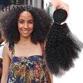 Peruano Cabelo Encaracolado Afro Encaracolado Kinky 3 Pacotes Lida 7A Não Transformados Cabelo Virgem Peruano Afro Crespo Onda Cabelo Virgem Peruano