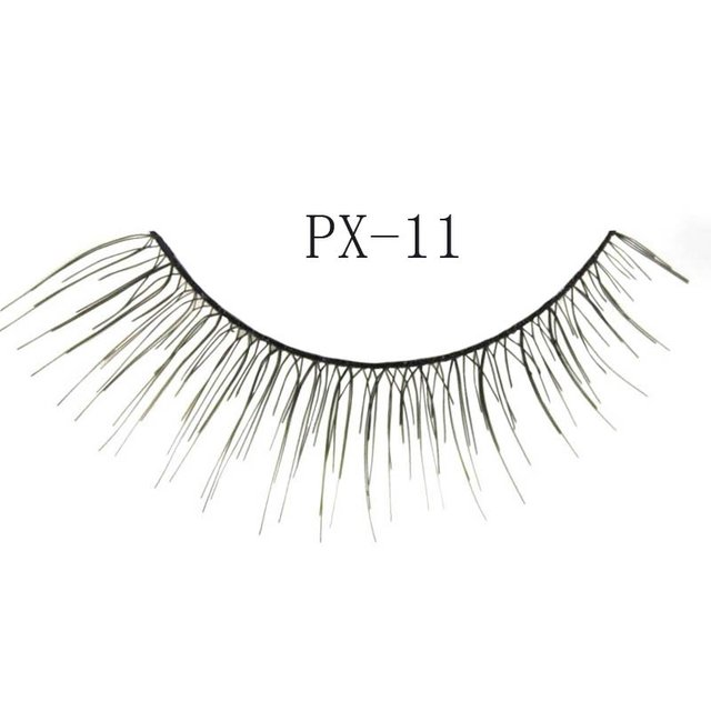 Free shipping,32box/lot [mixed style] high quality factory direct marketing,hand made (10 pairs/box)quality eyelashes (PX-11)