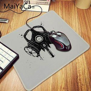Image 2 - MaiYaCa New stalker logo gas mask Laptop Gaming Mice Mousepad Large Gaming Mouse Pad Anti slip Locking PC Computer desk mat