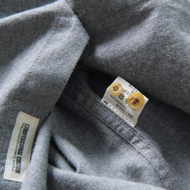 ICPANS 100 Cotton Long Sleeve Shirts Men Camisa Masculina Regular Casual Shirt For Men Summer Spring Big Size XXL XXXL in Casual Shirts from Men 39 s Clothing