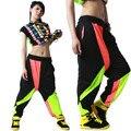 Новая мода Марка Гарем Хип-Хоп Танцевальная Брюки Тренировочные Брюки Костюмы женские износ сценическое гарем конфеты джаз брюки
