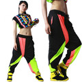 New fashion Brand Harem Hip Hop Dance Pants Sweatpants Costumes female stage performance wear harem candy jazz trousers