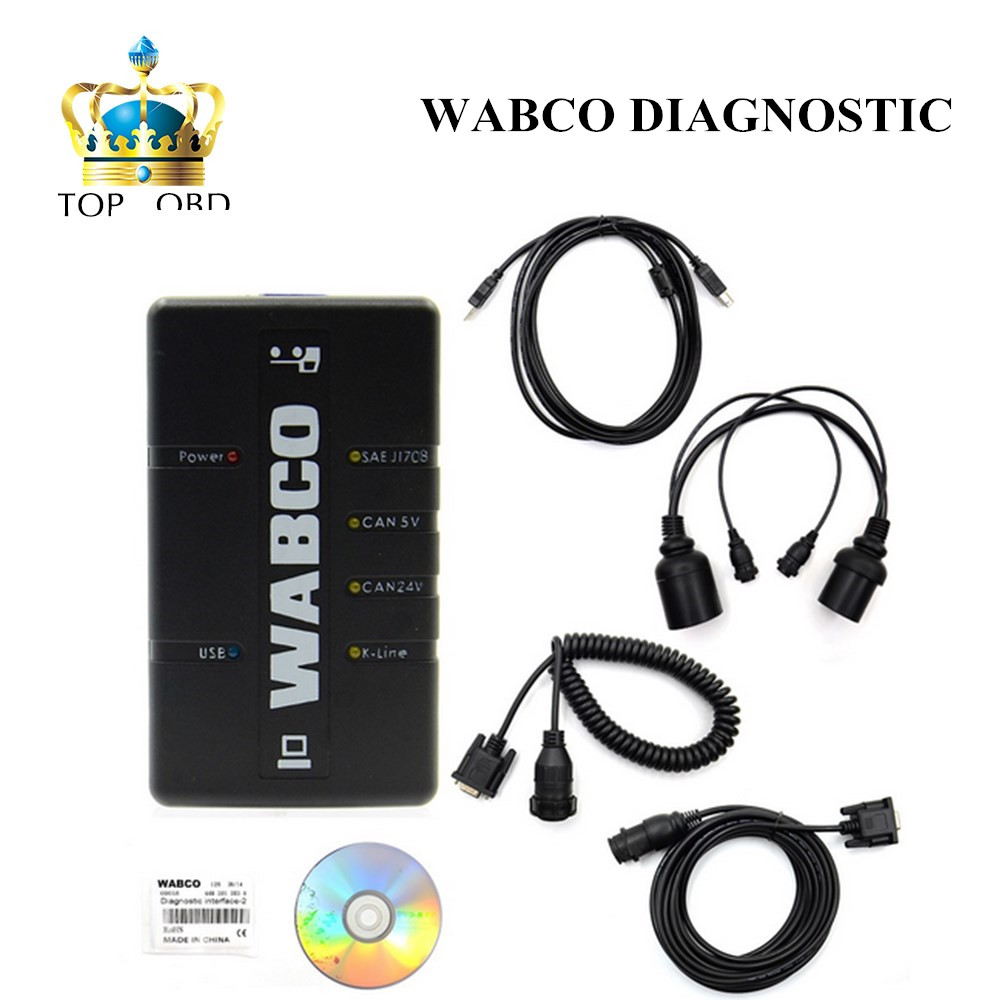 Now Arrived stock WABCO DIAGNOSTIC KIT (WDI) WABCO Trailer and Truck Diagnostic Interface with free shipping