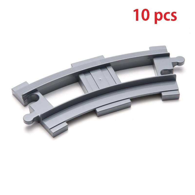 10pcs Curved-track