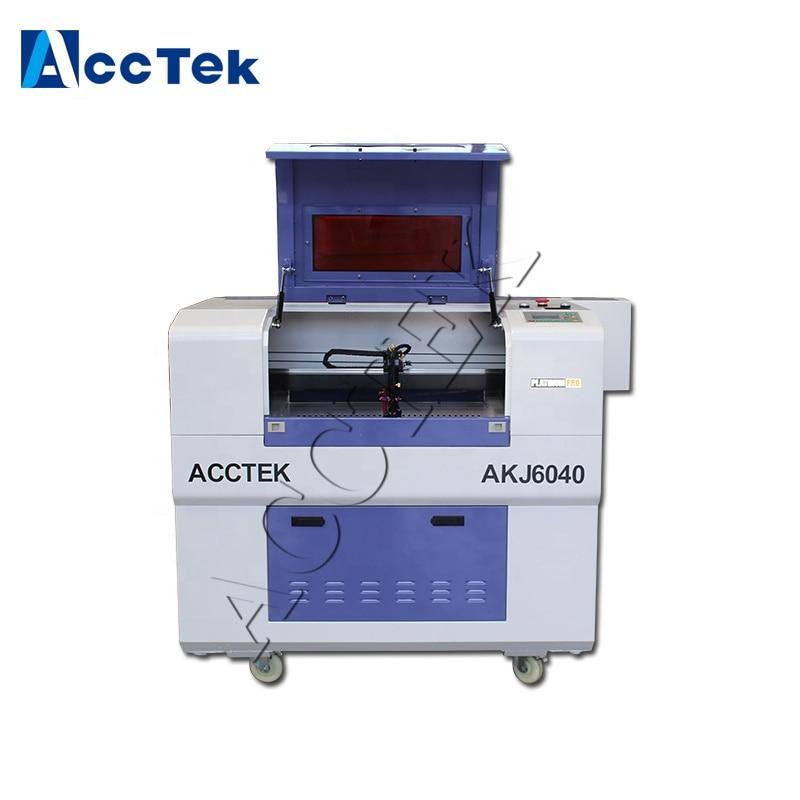 Hot Sale AKJ6040 Wood Acrylic Epilog Laser Engraver Machine